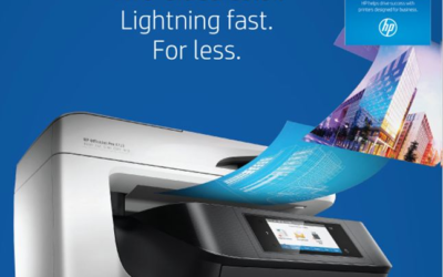 OfficeJet Pro Two-Sided color. Lightening Fast. For Less